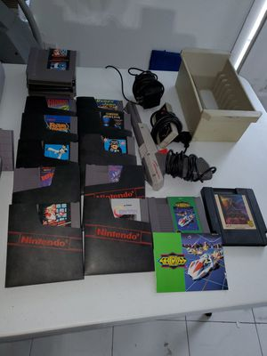 Original nintendo and super nintendo with games for Sale in Carrollton, TX