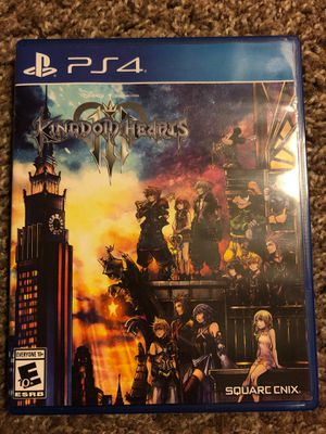 Kingdom Hearts 3 - PS4 for Sale in Federal Way, WA