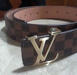 Louis Vuitton Checkered Paris Belt Made in Spain for Sale in Richardson,  TX