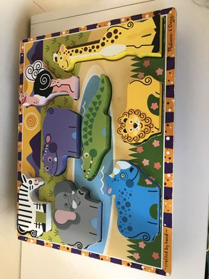 Big lot of Wooden toys and puzzles for toddlers for Sale in Rockville, MD
