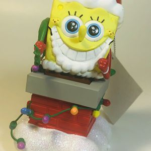 Sponge Bob Christmas Ornament With Sound for Sale in Newburgh Heights, OH