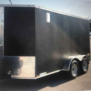 Upgraded Enclosed Trailer 7x12 for Sale in Atlanta, GA