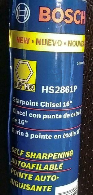 Hex Starpoint Chisel HS2861P Bosch for Sale in Port Richey, FL