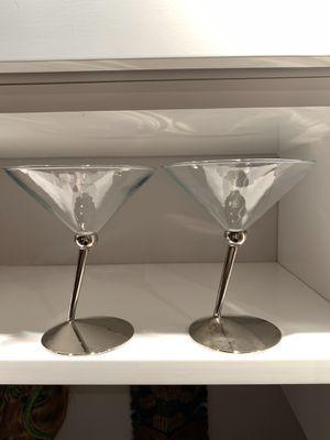 2 Classic Collectibles Martini Glasses for Sale in Denver, CO