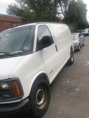 2002 Cargo van Chevy 3500 for Sale in Arlington, VA