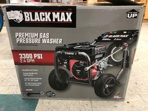 Black Max pressure washer for Sale in Orlando, FL