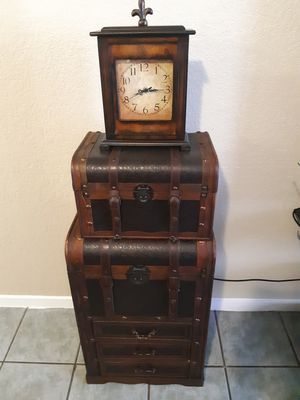 Piece Trunk Set decorative for Sale in Irving, TX