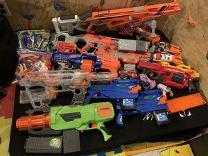 🔫Nerf Guns!!! Buy One or Make Offer!!🔫 for Sale in Hampton, VA