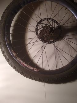 """24"""" Intense Mag 30 Rear Wheel Laced To Deore Xt for Sale in Oakland,  CA"""