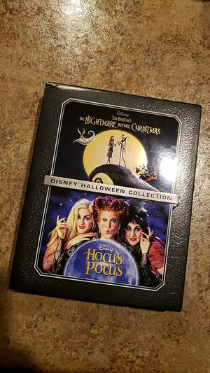 Disney Movie Club exclusive Hocus Pocus and Nightmare Before Christmas Halloween collection $20 for Sale in Glendale, AZ