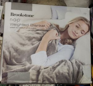 Brookstone Weighted Blanket for Sale in Elk Grove, CA