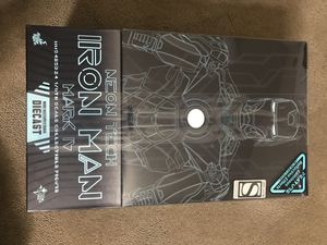 Neon Tech iron man mark iv diecast sixth scale figure ironman 2(Hot toys) for Sale in Union City, CA