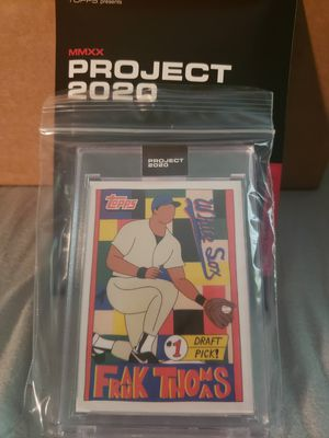 Topps Project 2020 Frank Thomas by Fucci for Sale in Woburn, MA