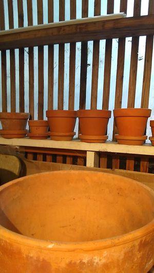 Clay flower pots for Sale in Seattle, WA