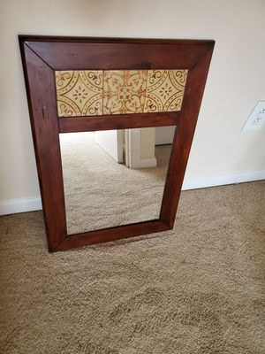 Wood Wall Mirror for Sale in Silver Spring, MD