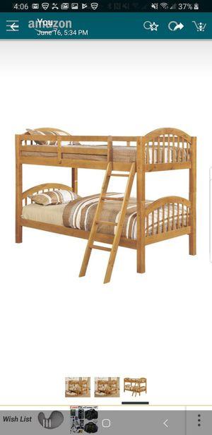 Wooden bunk bed for Sale in Des Plaines, IL