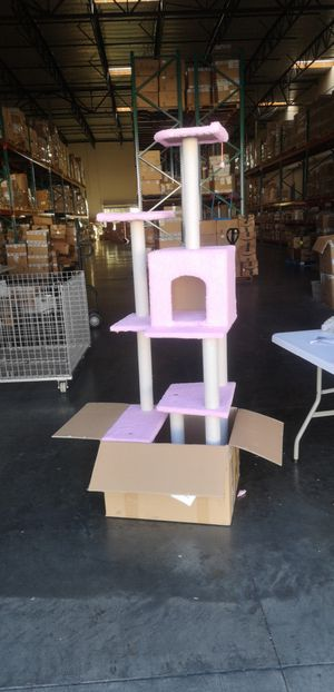 Cat tree tower condo furniture for Sale in Rancho Cucamonga, CA