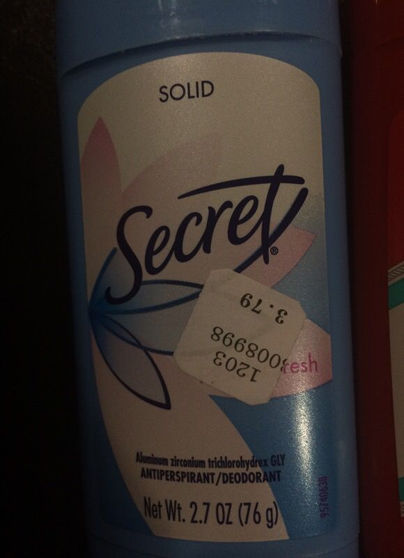 Secret and old spice deodorant 2 items