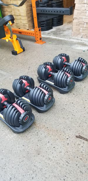 BOWFLEX 552 ADJUSTABLE DUMBBELLS WEIGHTS SET for Sale in Queens, NY