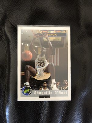 Shaq rookie card for Sale in Los Angeles, CA
