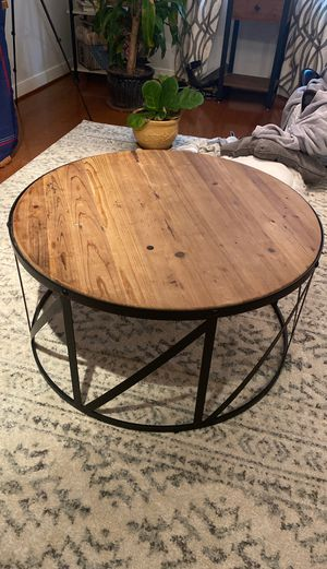 Round Coffee table for Sale in Washington, DC