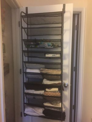 Over the door shoe rack/storage for Sale in Fairfax, VA