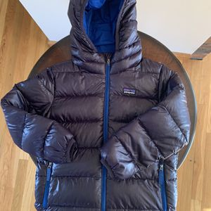 Patagonia Boy's Down Hooded Jacket for Sale in Prospect, CT