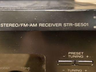 Sony STR-SE501 Stereo Reciever - READ FULL DESCRIPTION FIRST!!!! for Sale in Dallas,  TX