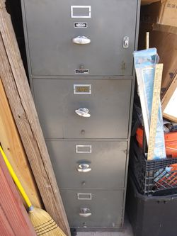 Fire proof filing cabinet very heavy for Sale in San Angelo,  TX