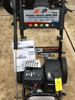 Pressure Washer AMP AKPW 3000 Kohler 6.5 HP for Sale in Camas,  WA