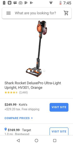Wireless shark vaccum (rocket) for Sale in St. Louis, MO