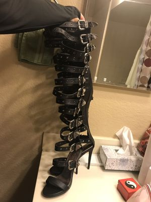Sexy Black Thigh High Boots 🖤 for Sale in Las Vegas, NV