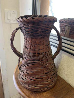 Woven Flower Vase for Sale in Fullerton, CA