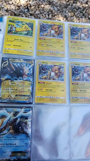 Lot of 7 holographic holo full art go ex pokemon cards for Sale in Queen Creek, AZ
