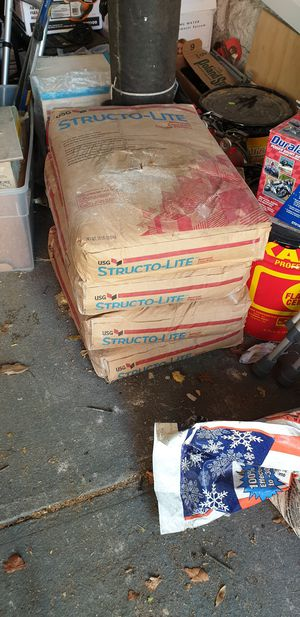 4 x 50 Lbs Structo-Lite for Sale in Queens, NY