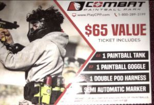Paintball tickets for Sale in Compton, CA
