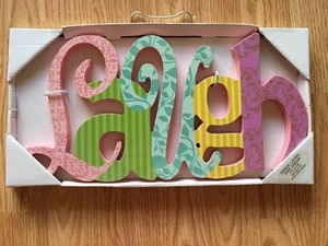 """""""Laugh"""" wall decor for Sale in Los Angeles, CA"""