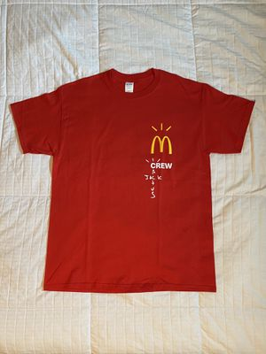 "Travis Scott x McDonald's ""Crew"" T-Shirt for Sale in Los Angeles, CA"