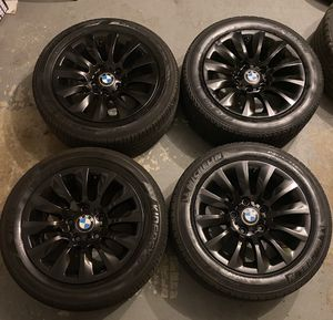 BMW WHEELS OEM GLOSS BLACK STYLE 282 16x7 BOLT PATTERN 5x120 for Sale in Fort Washington, MD