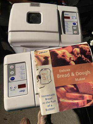 Oster bread maker for Sale in East Brunswick, NJ