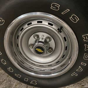 """15"""" C10 5x5 Chevy Rallys Wheels for Sale in Miami, FL"""