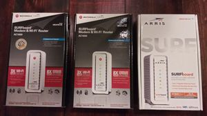 NEW! Arris Motorola SURFboard SBG6700-ac Gaming Modem and Wi-Fi Router for Sale in Kaufman, TX