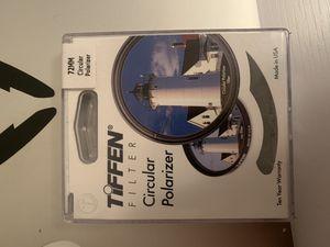 Tiffen Circular Polarizer Filter for Sale in Snoqualmie, WA