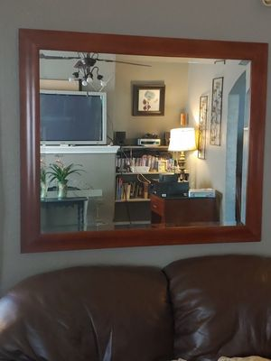 Solid Wood Mirror for Sale in Tulsa, OK