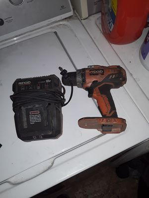 Drill with charger, Ridgid for Sale in Phoenix, AZ