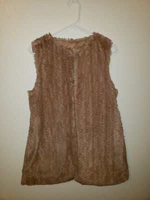 Betsey Johnson fur vest for Sale in Merced, CA
