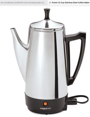 Coffee Maker Cafetera Eléctrica 12cup Presto 21-926 for Sale in Miami, FL