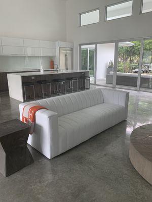 Modway white sofa for Sale in Vero Beach, FL