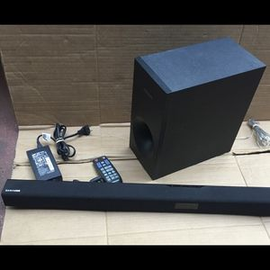 Samsung Sound Bar and Subwoofer , Bluetooth (Soundbar) for Sale in Gardena, CA