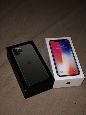 AT&T IPhone11 Pro 512 & Iphone10x 64 Unlock for Sale in Columbus, OH